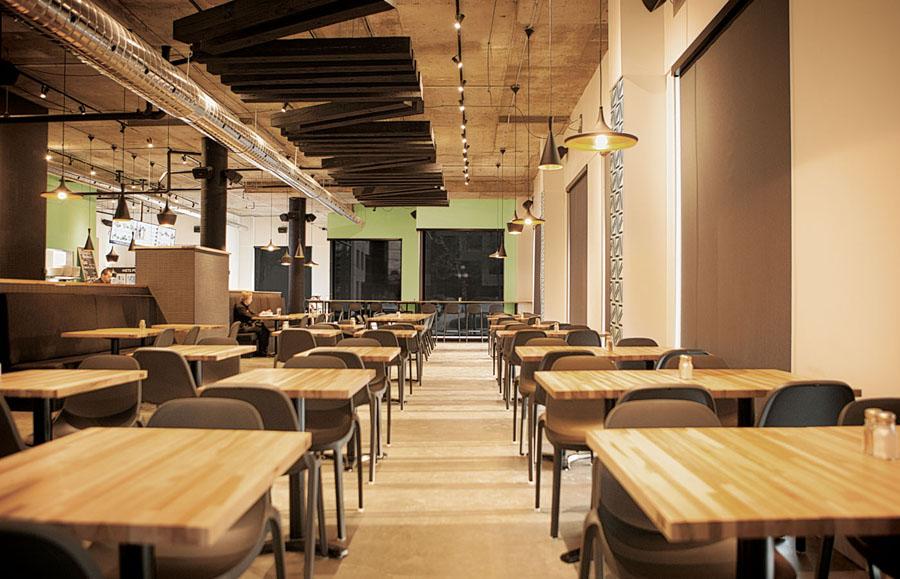 快餐品牌Nourcy餐饮品牌全案设计,空间设计
