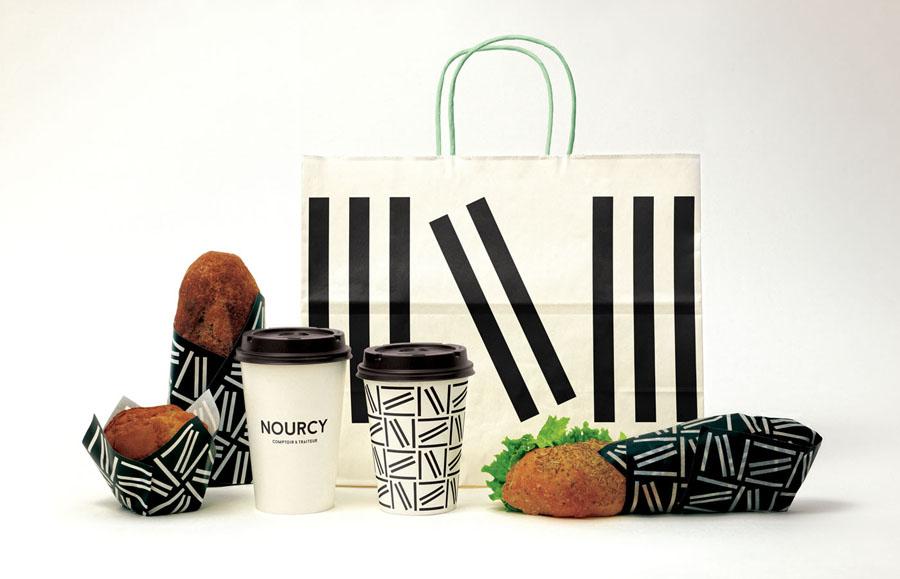 快餐品牌Nourcy餐饮品牌全案设计,包装设计