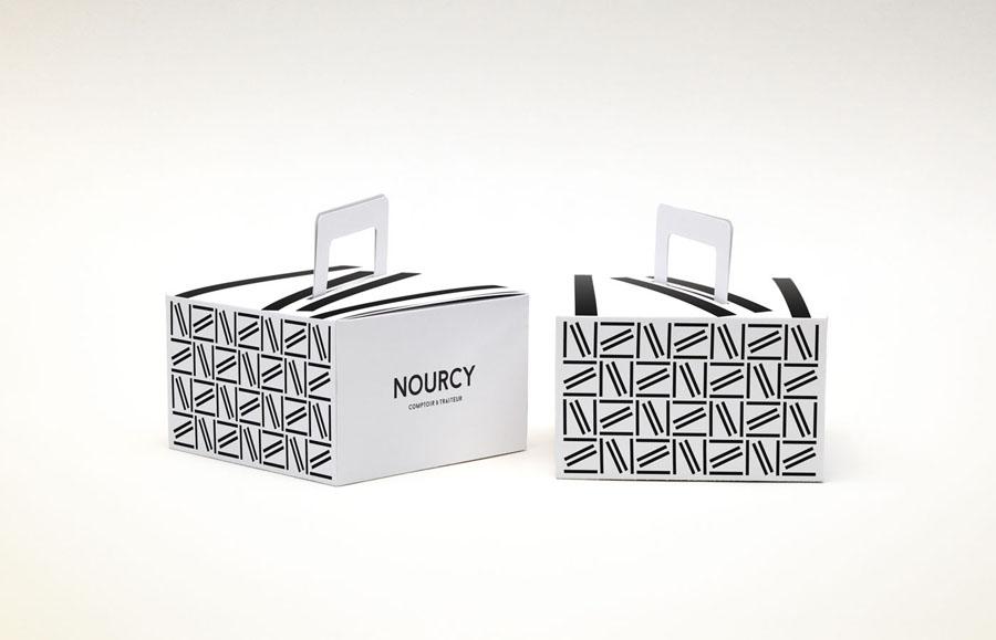 快餐品牌Nourcy餐饮品牌全案设计,外卖盒设计