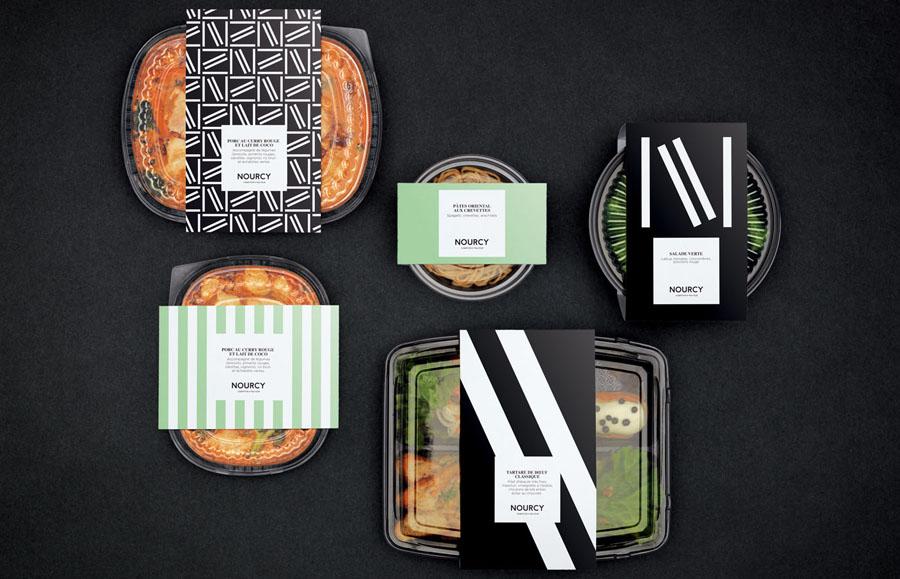 快餐品牌Nourcy餐饮品牌全案设计,餐具设计