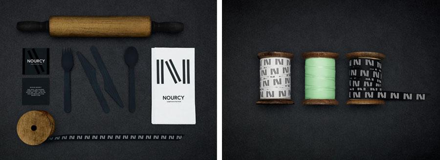 快餐品牌Nourcy餐饮品牌全案设计,vi设计