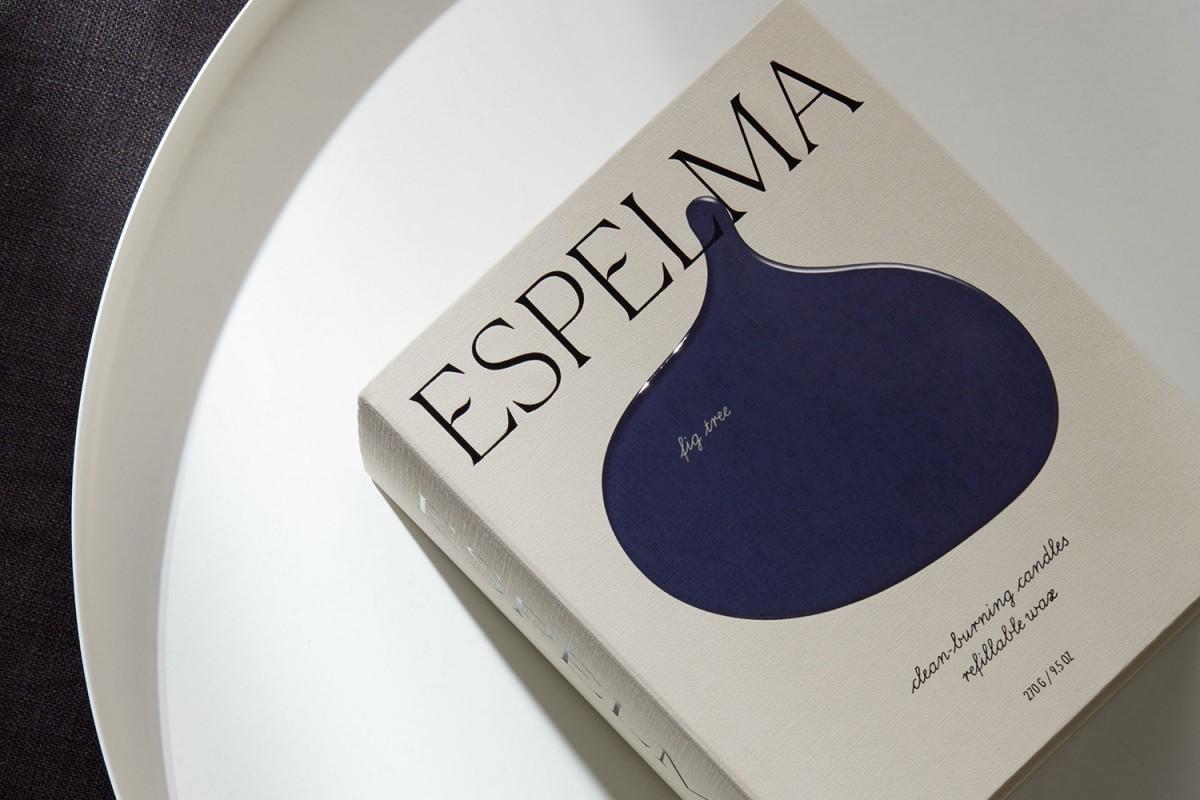 天然蜡烛公司Espelma品牌包装设计