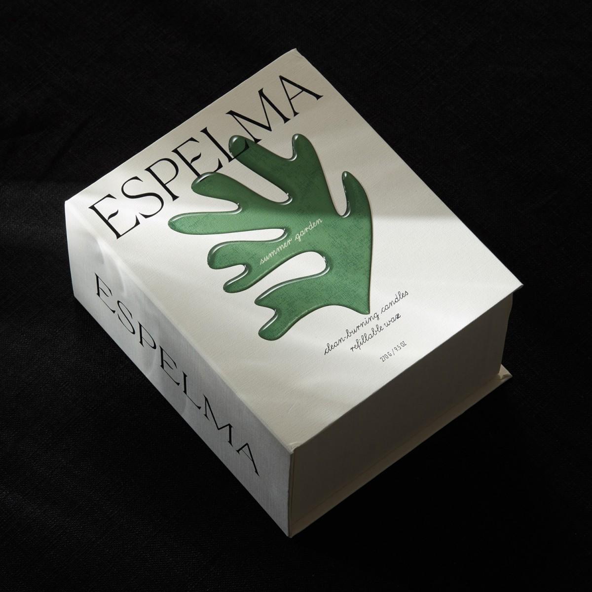 天然蜡烛公司Espelma品牌包装设计,包装盒设计