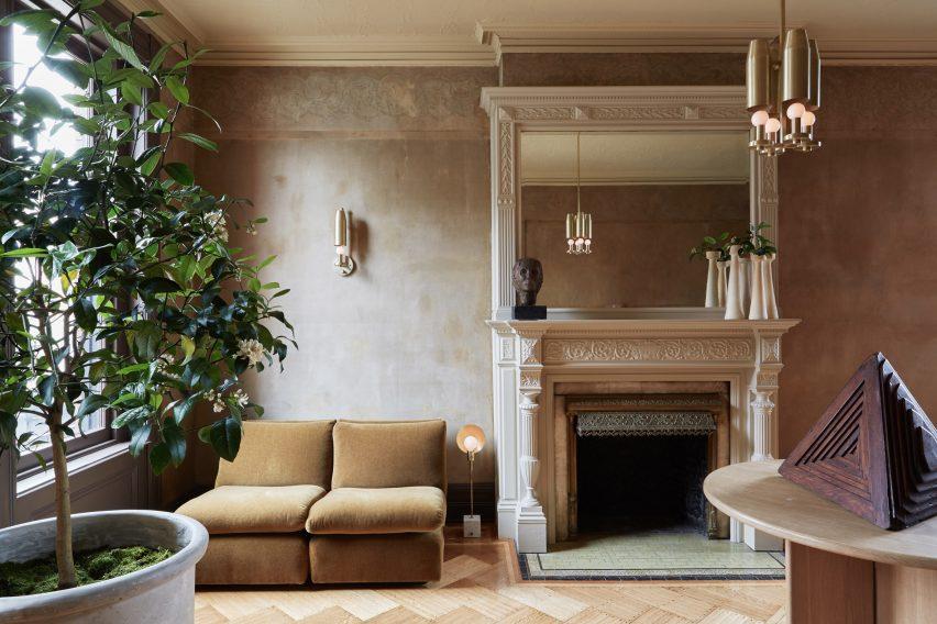 家具和照明展厅设计,内部和外部之间的对话