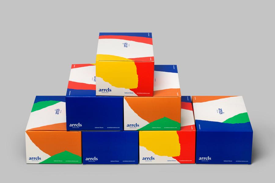 西班牙鞋品牌Arrels品牌形象策划,vi品牌形象设计
