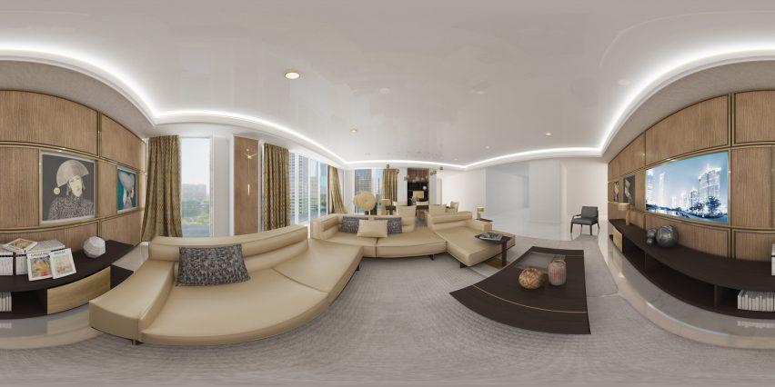 意大利家具品牌Natuzzi虚拟现实购物空间设计