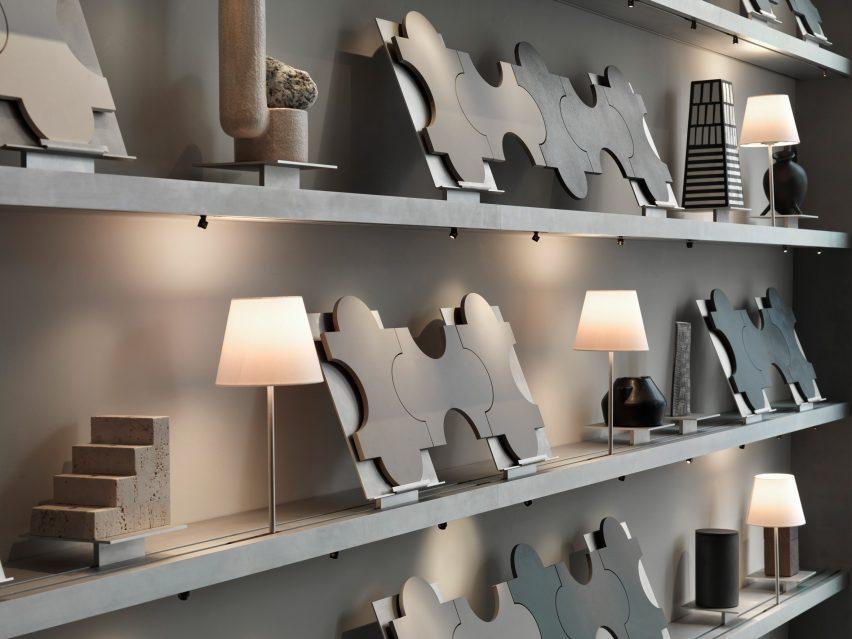 Marazzi瓷砖产品展厅设计,收藏图书馆