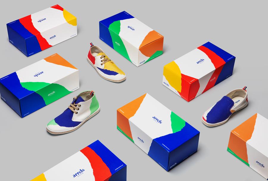 西班牙鞋品牌Arrels品牌形象策划,vi品牌形象设计, 包装设计