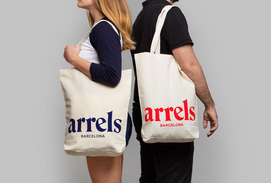西班牙鞋品牌Arrels品牌形象策划,vi品牌形象设计,袋子设计
