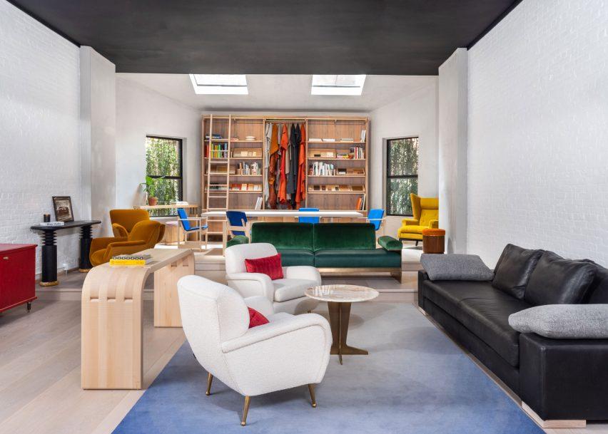 爱尔兰家具品牌Orior纽约家具展厅空间设计,活力和风味