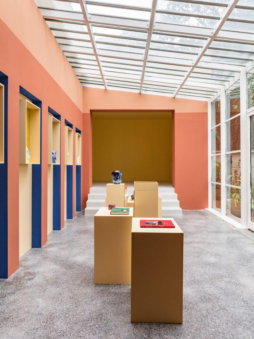Villa Noailles shop designed by Pierre Yovanovitch
