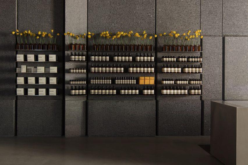 伊索Aesop百货公司零售空间设计