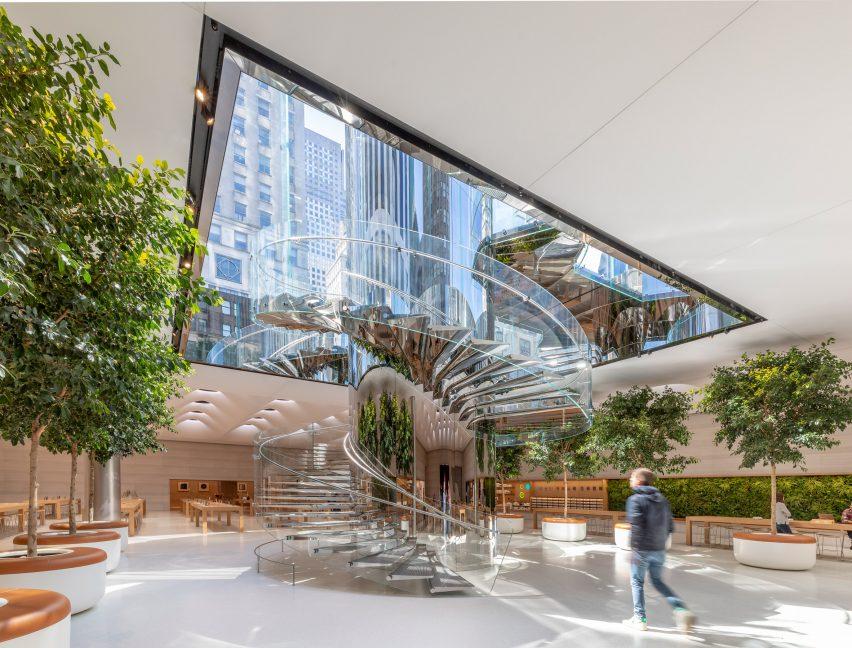 第五大道苹果旗舰店设计,快乐新鲜和美