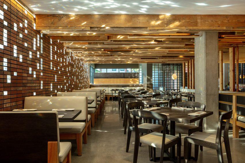 日本绿色概念主题餐厅设计,舒适惬意,与众不同