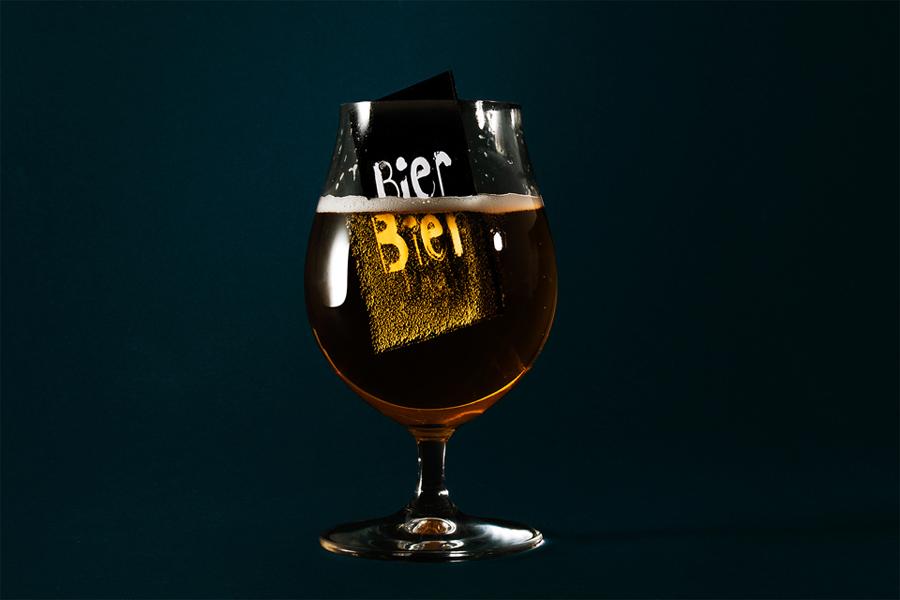 Bier Bier酒吧品牌形象塑造,vi设计,酒杯设计