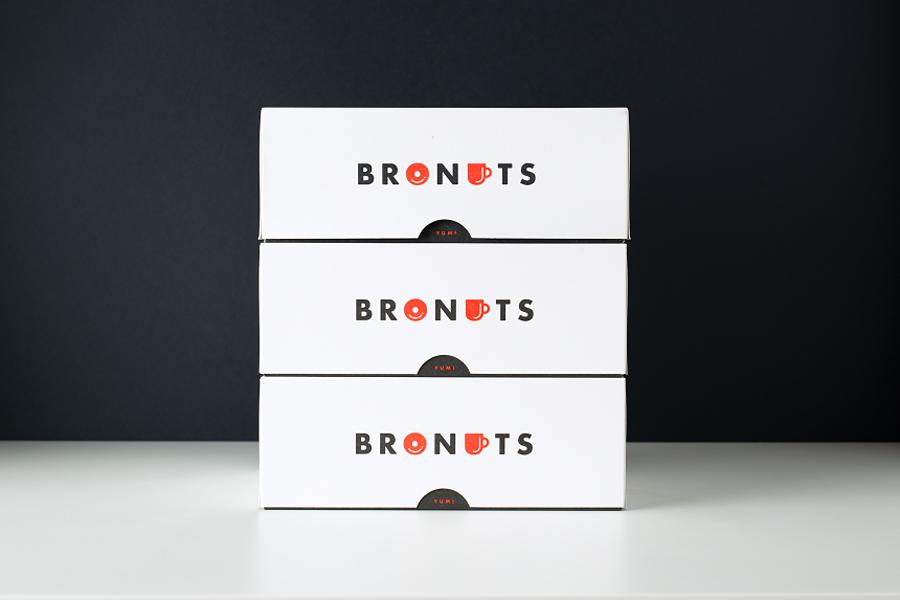 Bronuts品牌vi设计,包装设计