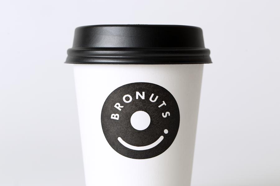 Bronuts品牌vi设计,咖啡杯设计