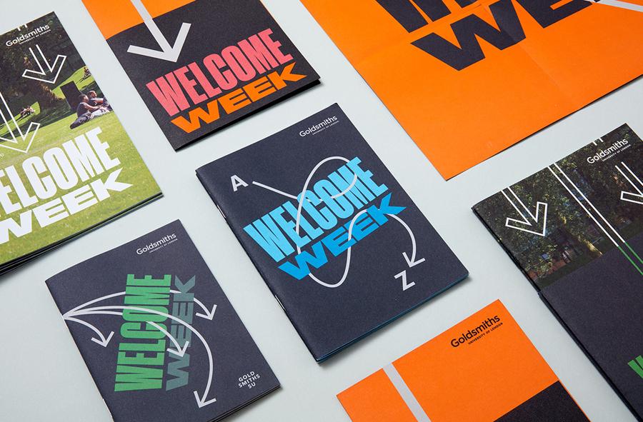 Goldsmiths学校vi设计,logo设计