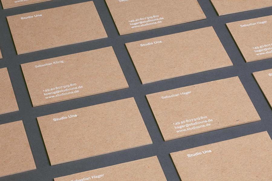 Una平面设计公司vi企业形象设计,名片设计