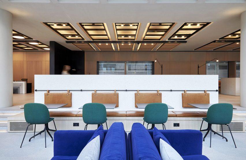 建筑事务所现代办公空间设计,模糊作和娱乐界限
