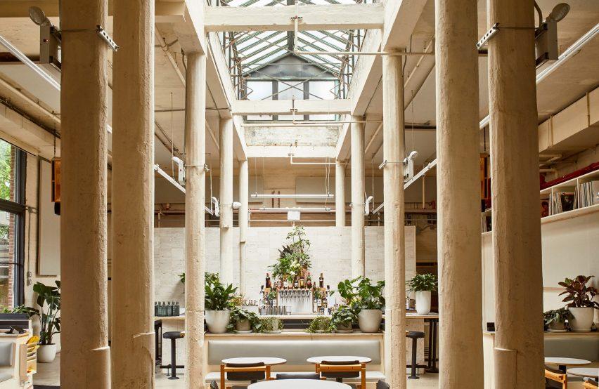 素食咖啡馆空间设计,音乐驱动的社交空间