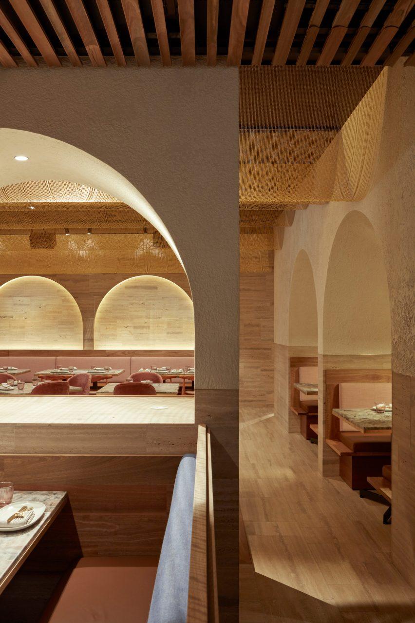 古巴比伦风格主题餐厅空间设计,美索不达米亚