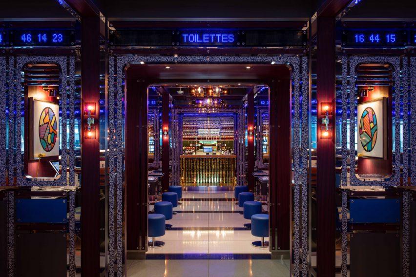 伦敦金融城法式餐厅设计,豪华餐饮空间设计