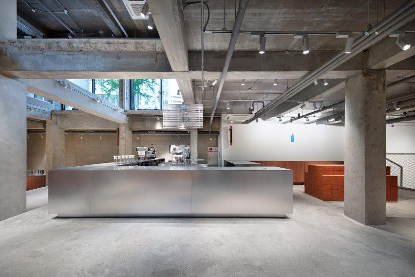 汉城Blue Bottle咖啡厅设计,安静空间远离喧嚣