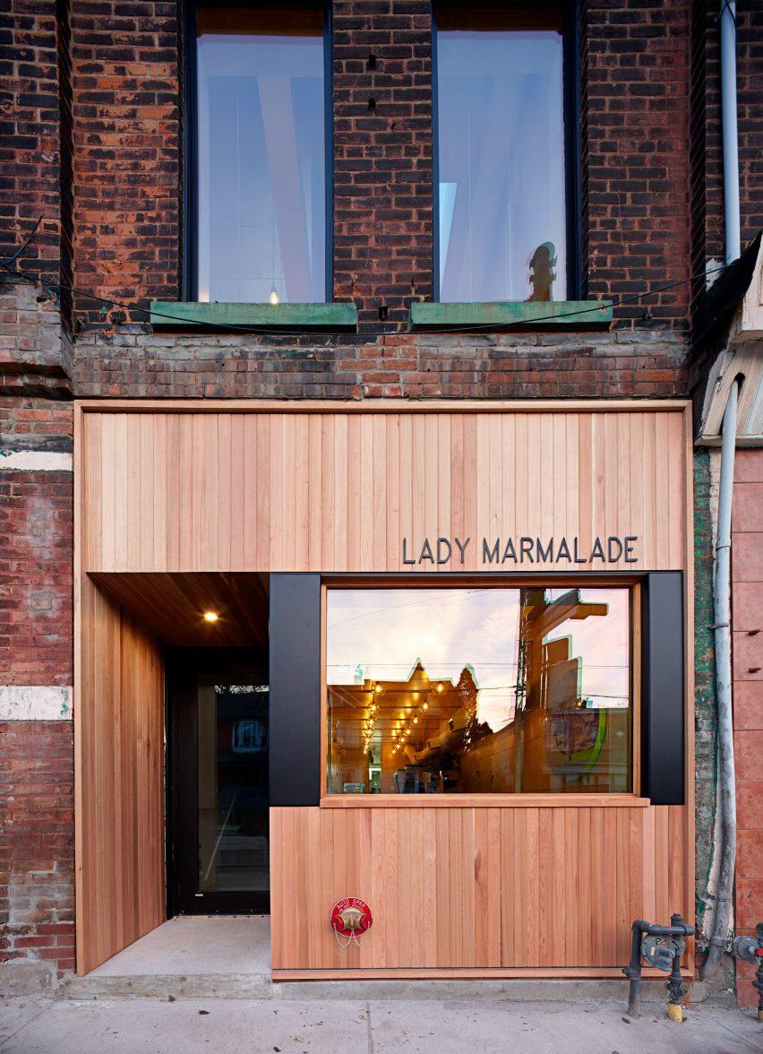 多伦多的Lady Marmalade餐馆设计装修