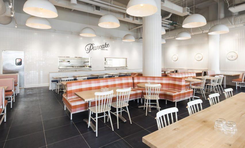 亚特兰大社交餐厅空间设计装修