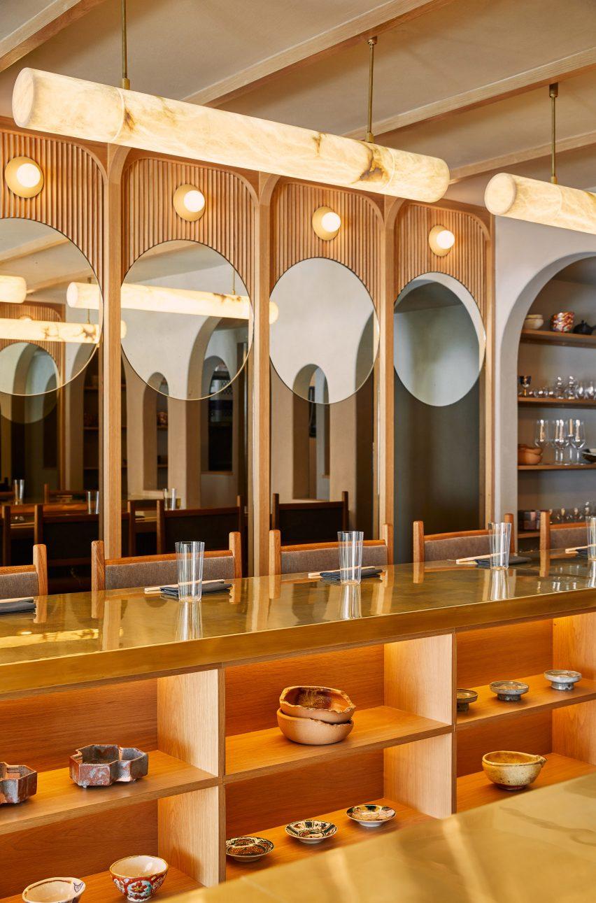 日本小餐馆Tsukimi餐厅设计,灵感来源于中国农历节日