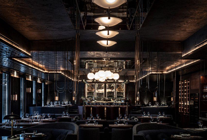 """伦敦""""幸运猫""""餐厅设计"""