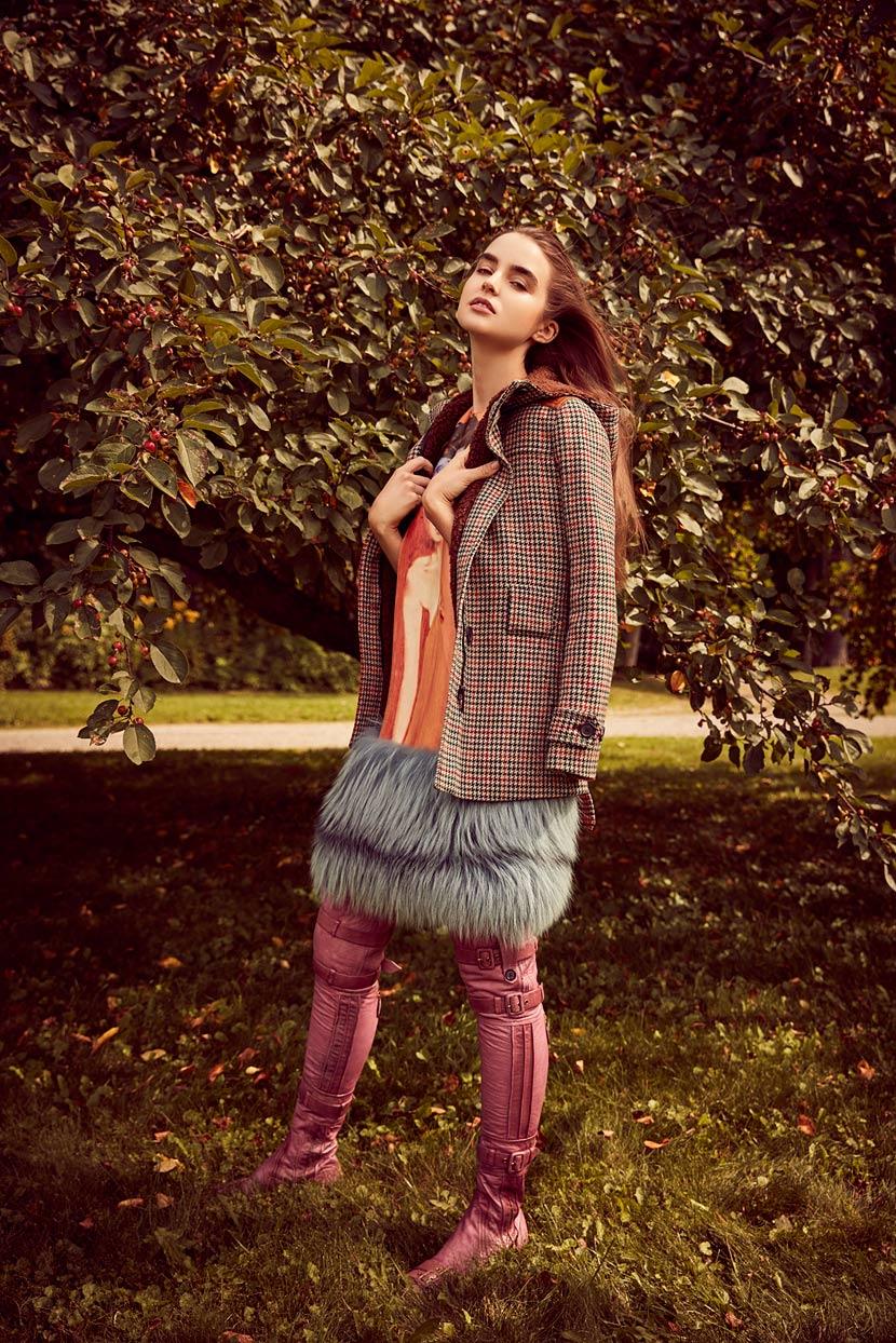 时尚芭莎Bazaar封面人物摄影