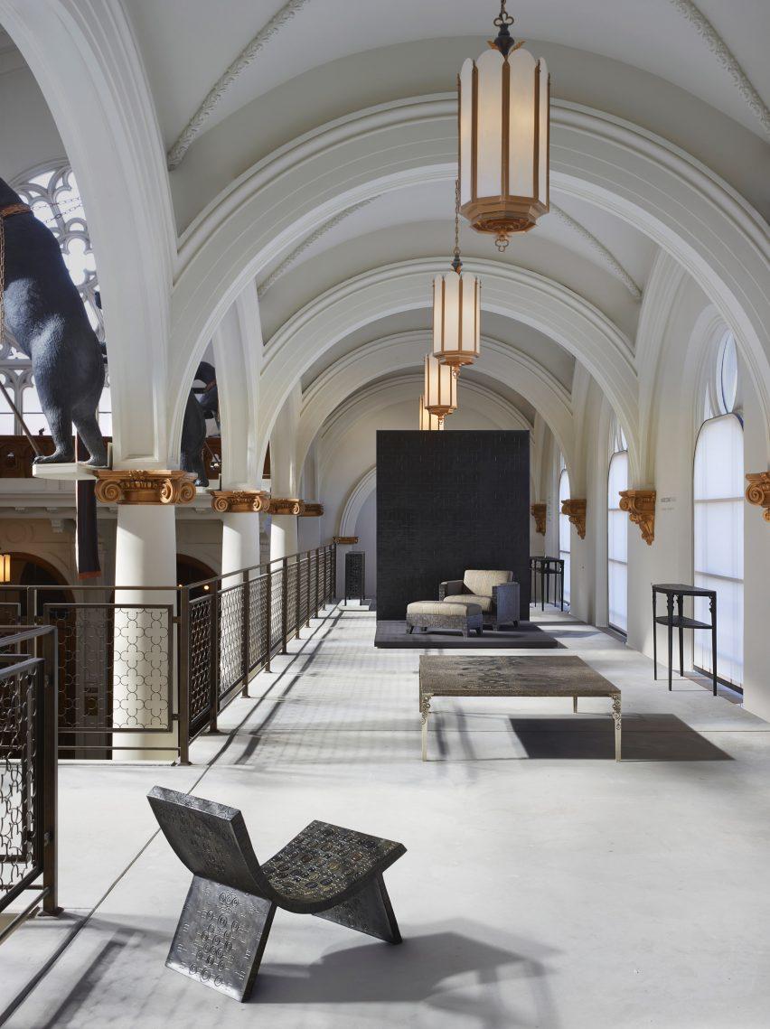 旧金山木工车间画廊30年庆典展览展厅设计