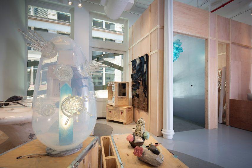 纽约R&Company画廊展览展厅设计,关于探索展示空间设计
