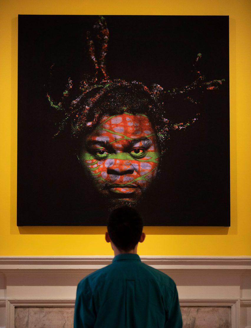 黑人创造力展览展厅设计