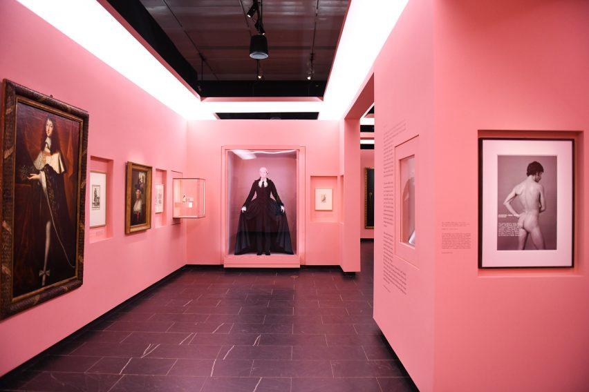 大都会博物馆展览展厅设计
