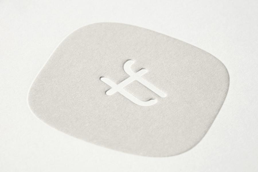 Tina Frey家居设计公司vi设计,杯垫设计