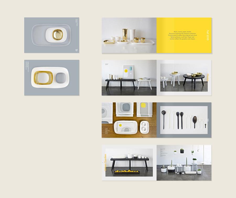Tina Frey家居设计公司vi设计,画册设计