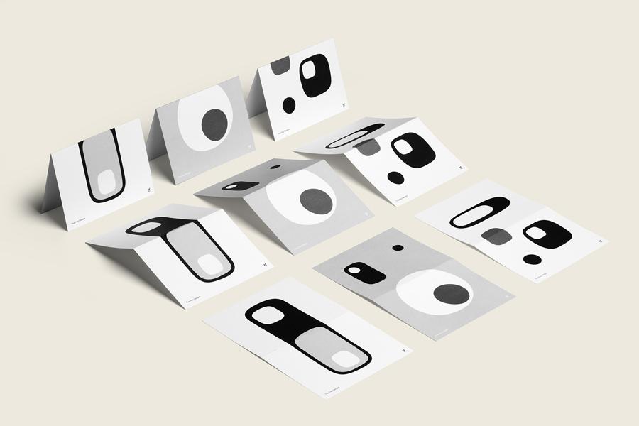 Tina Frey家居设计公司vi设计,海报设计
