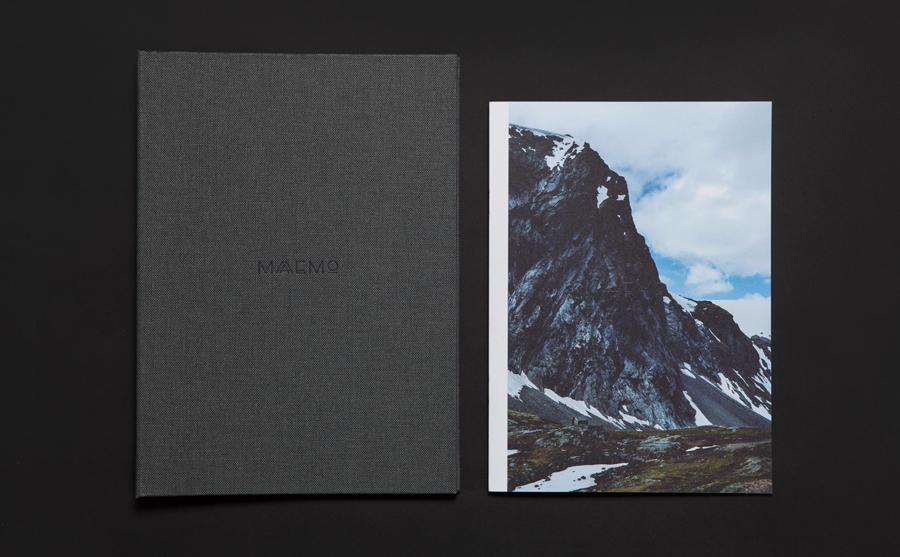 挪威Maaemo米其林餐厅vi设计,餐饮品牌设计,画册设计