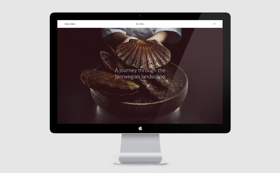 挪威Maaemo米其林餐厅vi设计,餐饮品牌设计,公司网站设计