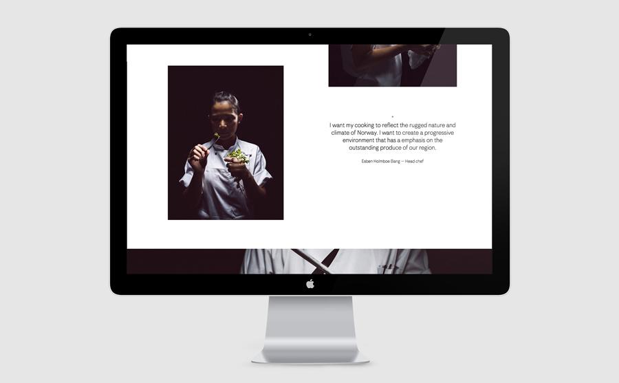 挪威Maaemo米其林餐厅vi设计,餐饮品牌设计,企业网站设计