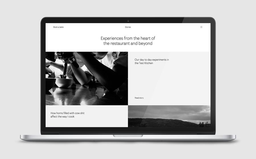 挪威Maaemo米其林餐厅vi设计,餐饮品牌设计,公司官网设计