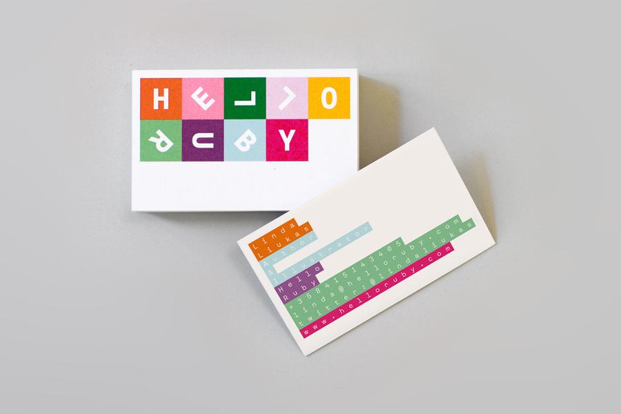 综合性儿童电脑品牌Hello Ruby品牌vi设计,企业形象设计