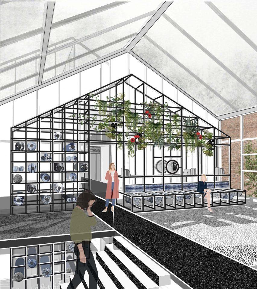 英国皇家艺术学院零排绿色放办公空间装修设计