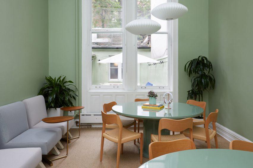 纽约联合工作俱乐部工作空间设计,办公室设计