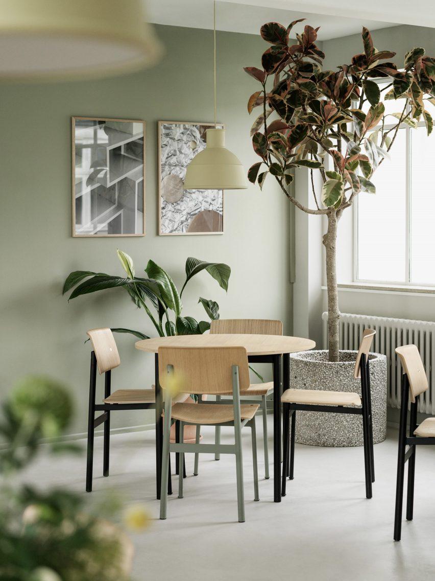 丹麦家具品牌muuto哥本哈根办公室设计,柔和舒适