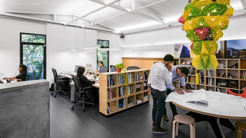 8个巴拿马城建筑工作室室内空间设计