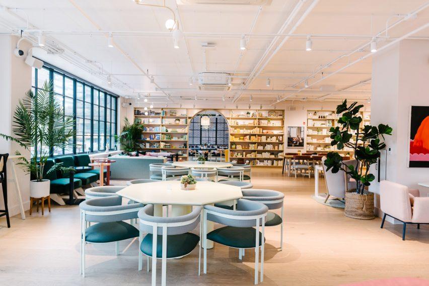 芝加哥的女性联合工作俱乐部办公空间设计,草原风格